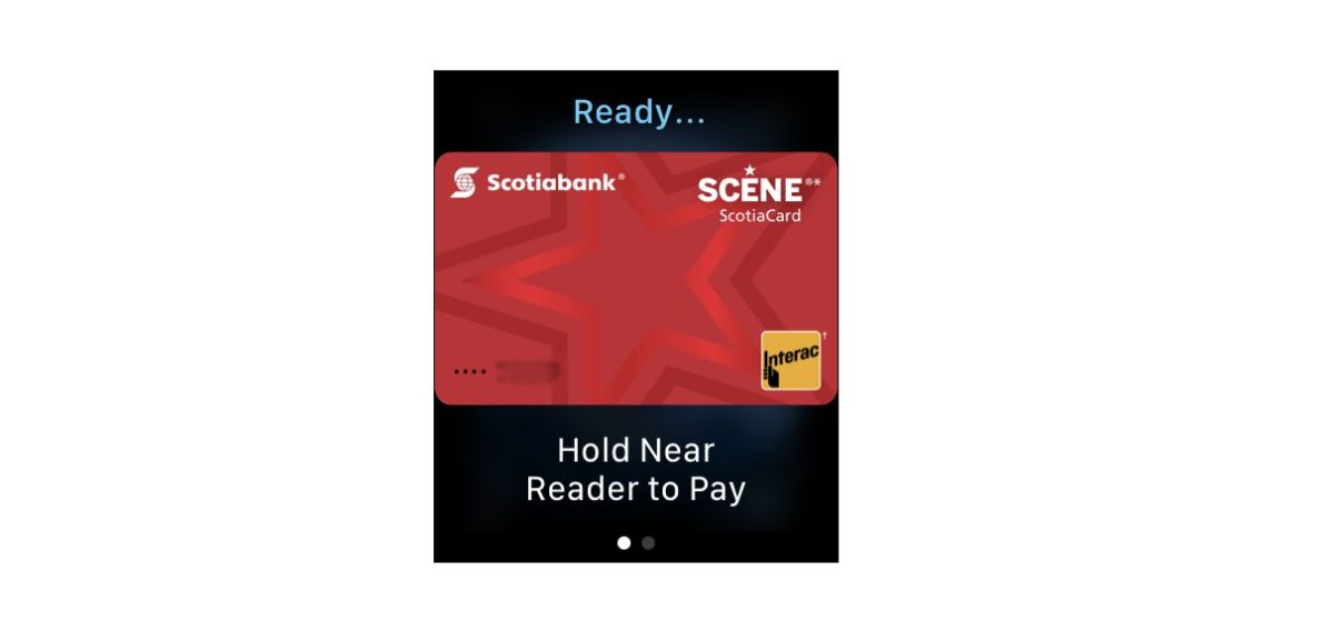 Apple Watch Apple Pay Card