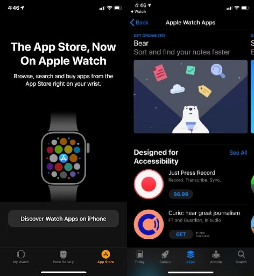 Apple Watch приложения для iPhone