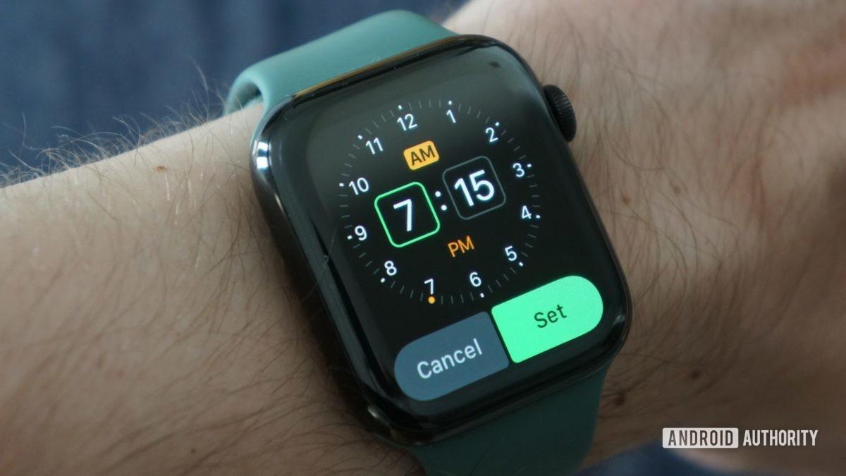 apple watch series 5 будильник