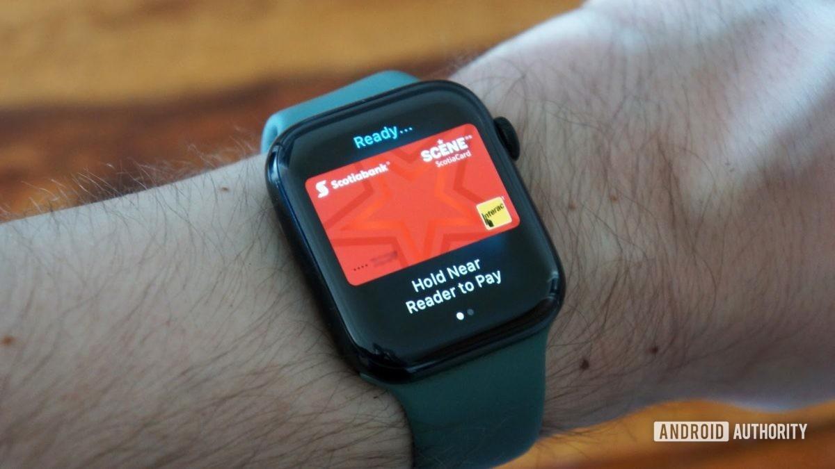 Apple Watch Series 5 Apple Pay