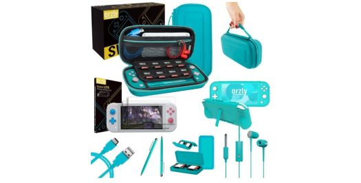 orzly switch lite accessories bundle