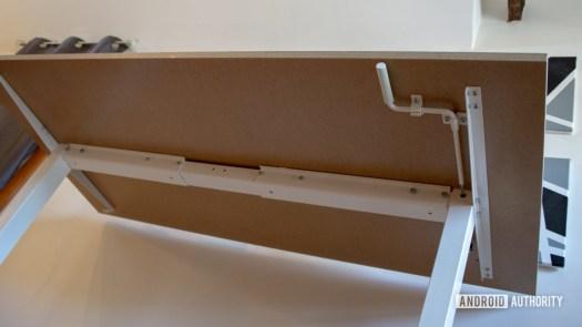 Ikea Skarsta Review Bottom View