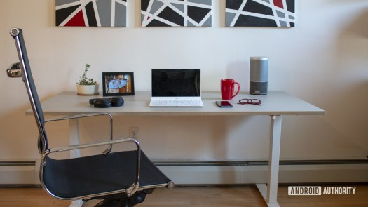 Ikea Skarsta Review Lowered with Chair