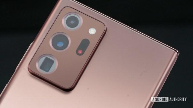 Samsung Galaxy Note 20 Ultra kamera açılı