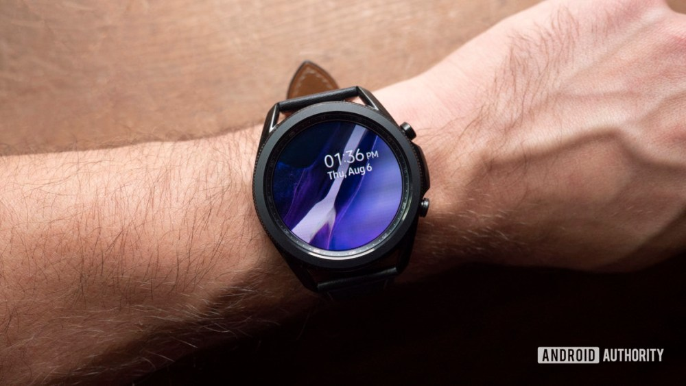 samsung galaxy watch 3 review display clock face2