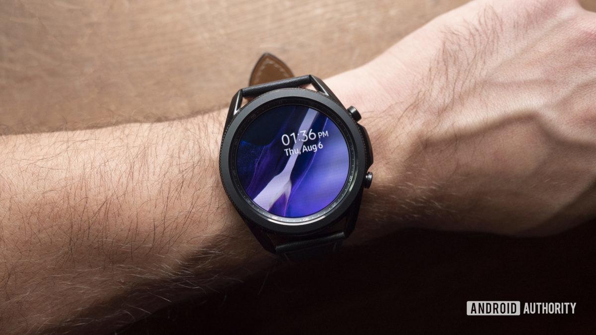 samsung galaxy watch 3 revisão mostrador do relógio 2