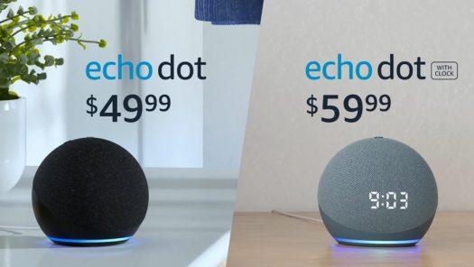 Amazon Echo Dot 2020 Pricing