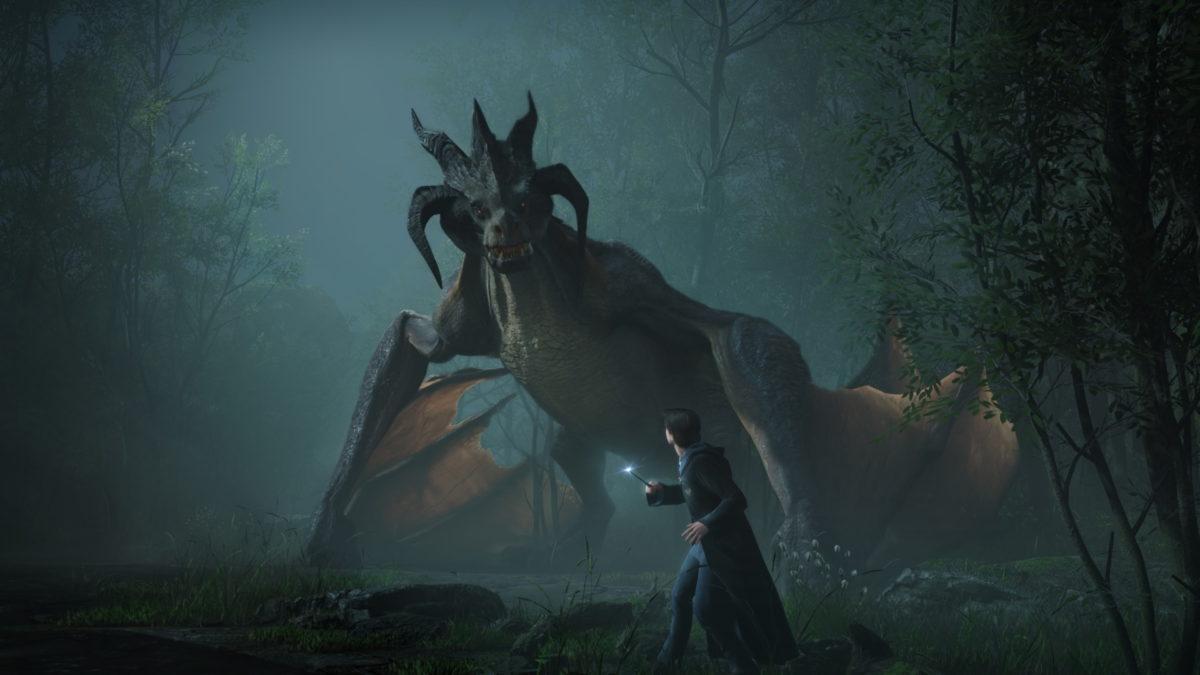 Dragão legado de Hogwarts