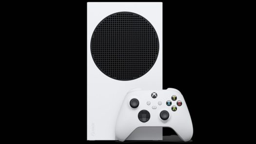 Xbox Series S Official Image Showing Front with controller