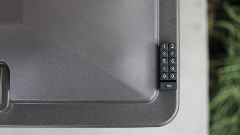 Yale Smart Delivery Box Brighton Model with Keypad Promo Image