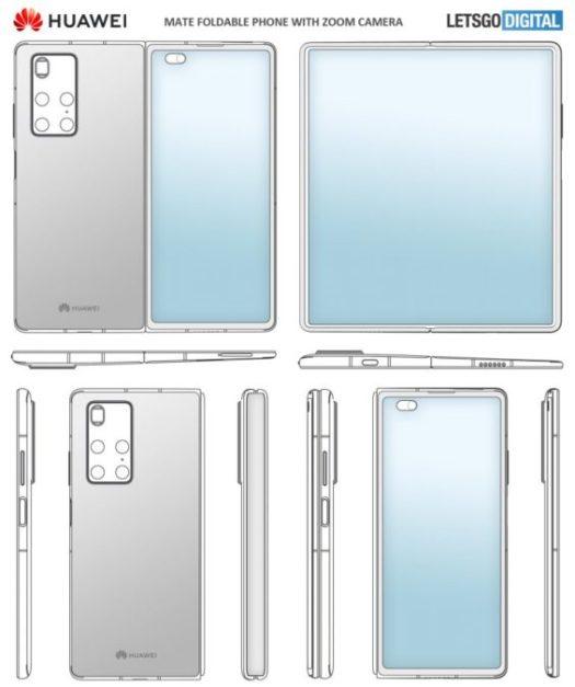 huawei mate x2 patent design 1