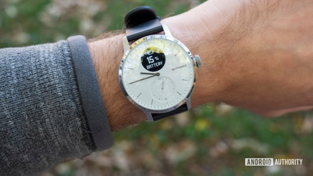 withings scanwatch обзор времени автономной работы