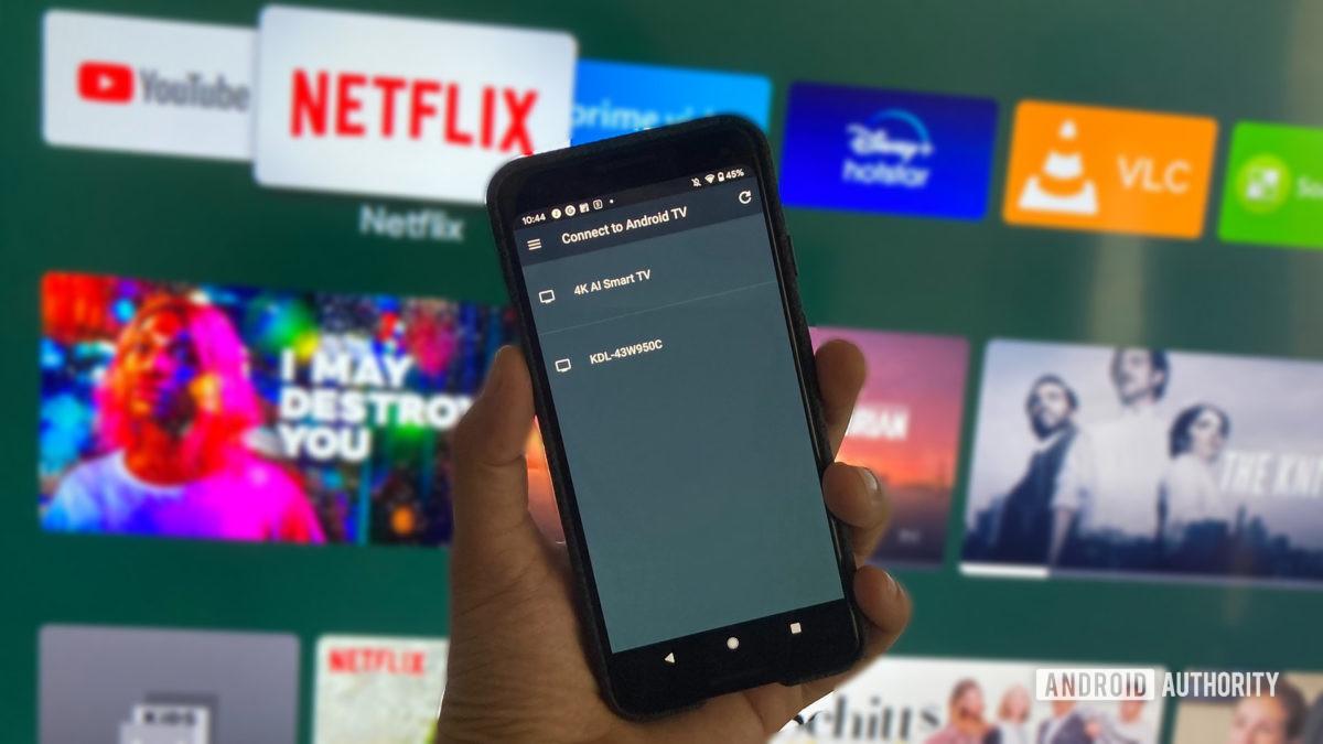 Приложение дистанционного управления Android TV