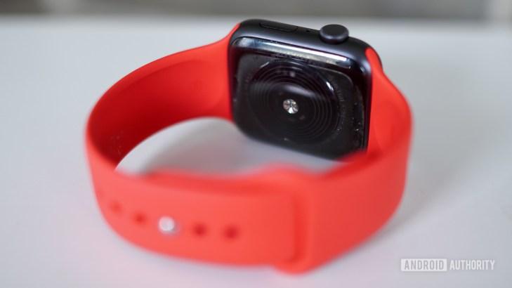 Apple Watch SE back