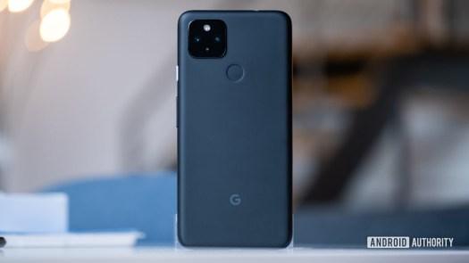 Google Pixel 4a 5G standard back image