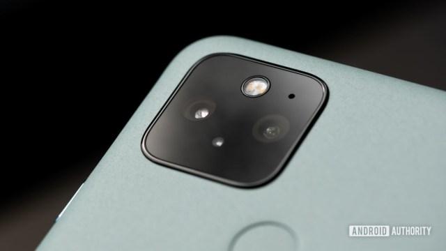Макрос камеры Google Pixel 5 8