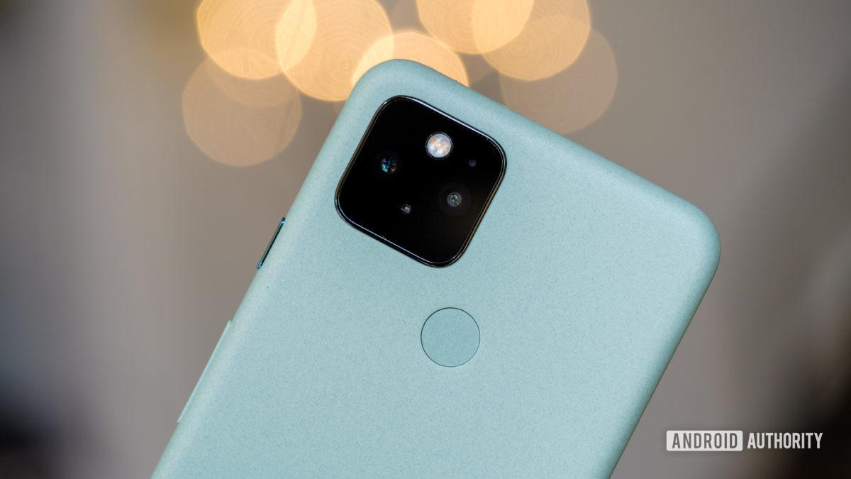 Google Pixel 5 camera macro with bokeh