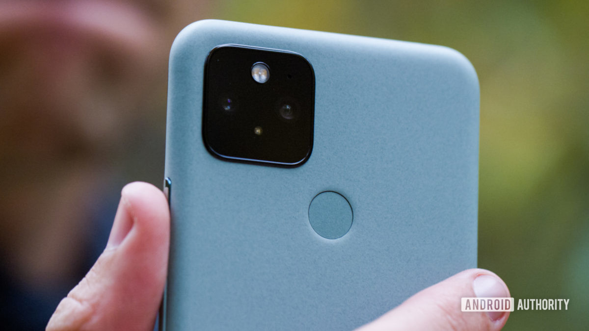 Macro 3 da câmera traseira do Google Pixel 5