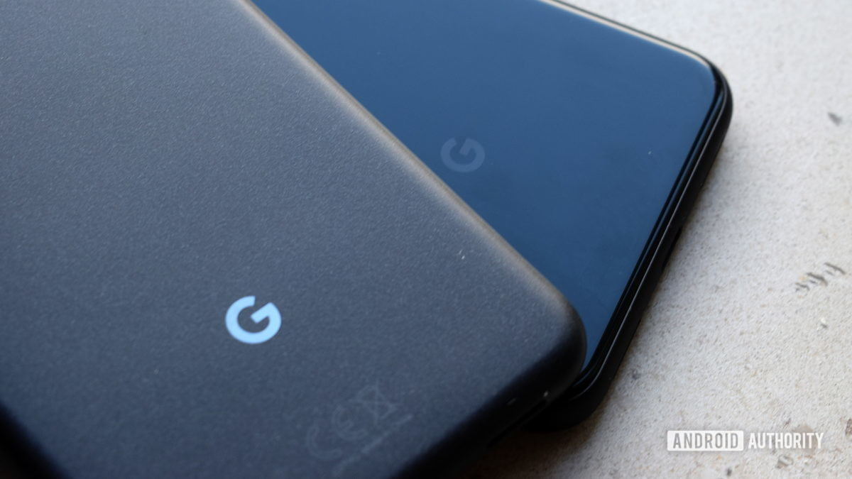 Logotipos do Google Pixel