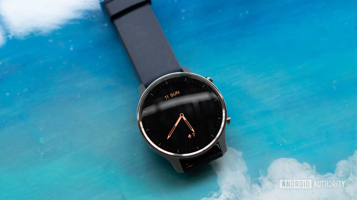 Mi Watch Revolve always on display