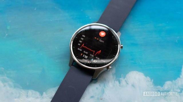 Mi Watch Revolve heart rate monitoring