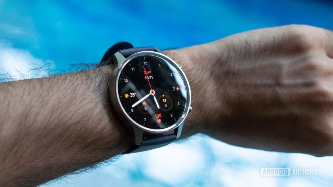 Mi Watch Revolve wrist shot