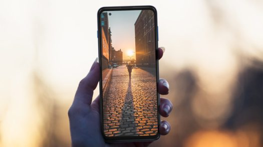 Motorola One 5G Motorola Promo Shot