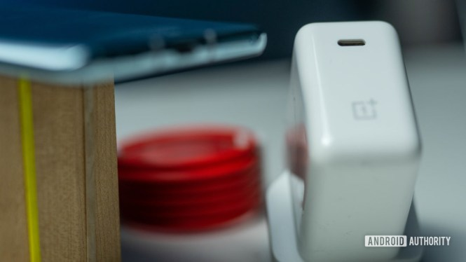 OnePlus 8T charger and cable