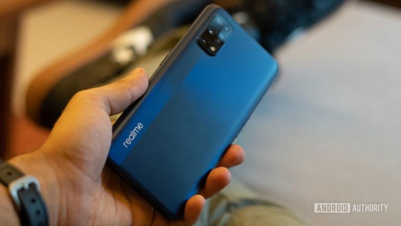 Realme 7 Pro profile image in hand