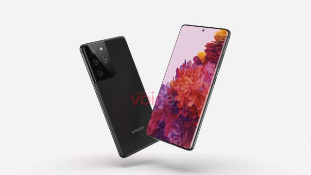 Samsung Galaxy S30Ultra Render 2 s21