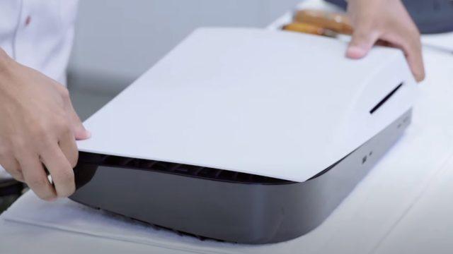 Разборка Sony PlayStation 5 PS5