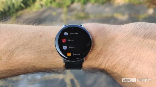 Zepp E Circle Review on Wrist Apps
