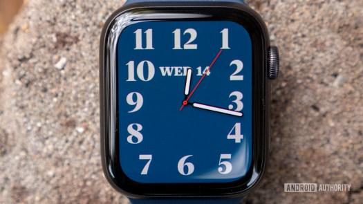 apple watch series 6 review artist watch face display 2