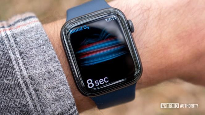 apple watch series 6 review blood oxygen recording spo2 1