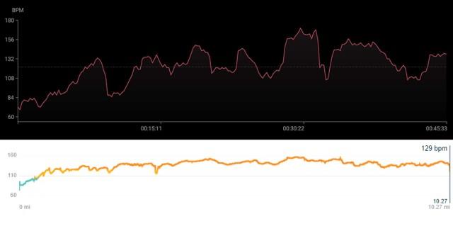 zepp e обзор против fitbit charge 4 скриншоты пульса