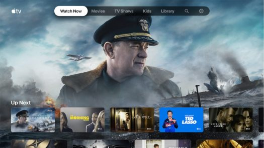 Apple TV screenshot streaming apps and services