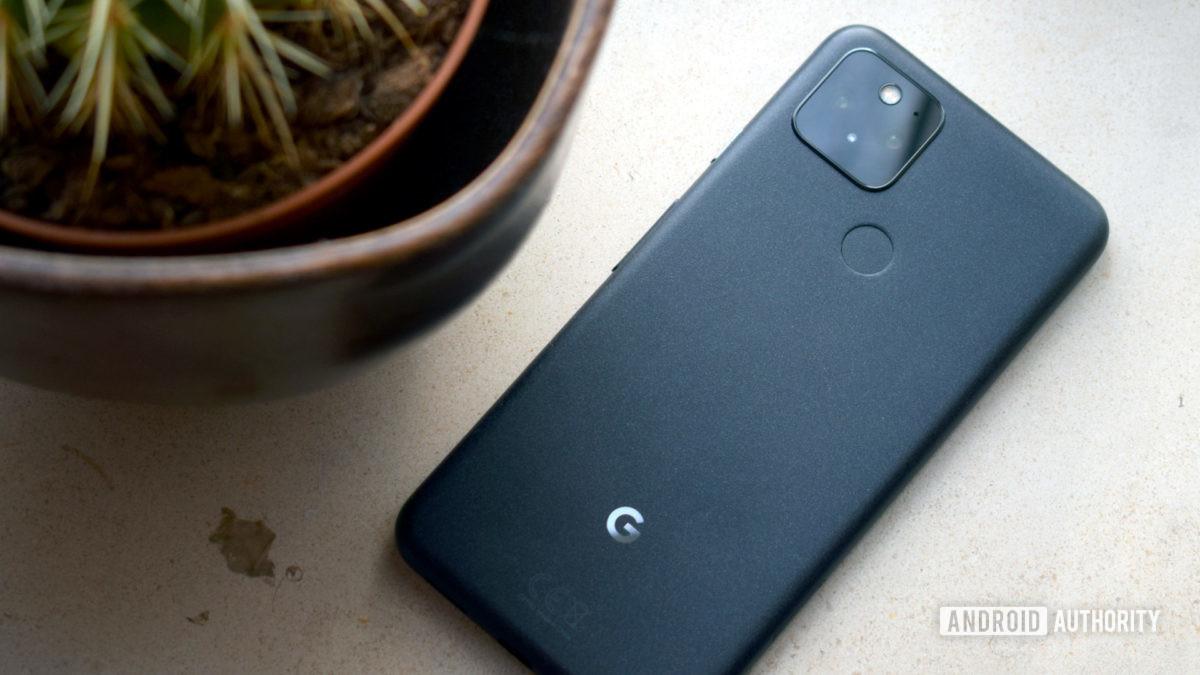 Google Pixel 5 Grey Back