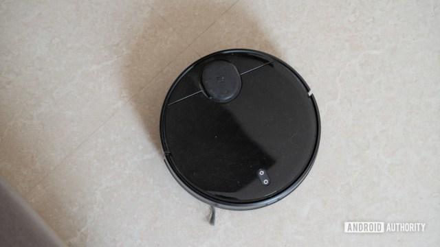 Mi Robot Vacuum Mop P вид сверху вниз