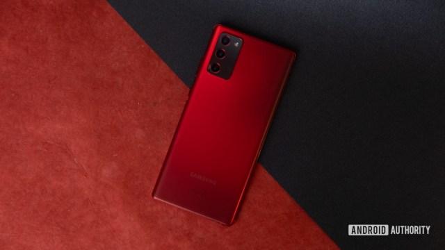 Samsung Galaxy Note 20 Kırmızı 1