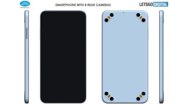 Патент на дизайн смартфона