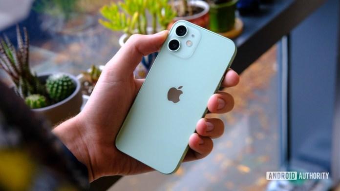 iPhone 12 Mini back in hand 1 1