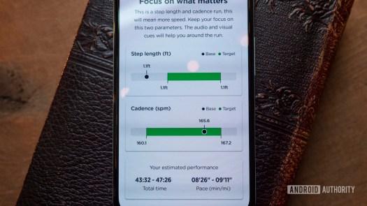 nurvv run review nurvv app pace coach workout details