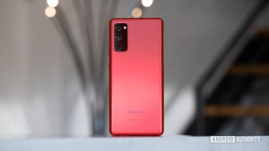 Samsung Galaxy S20 FE back 3