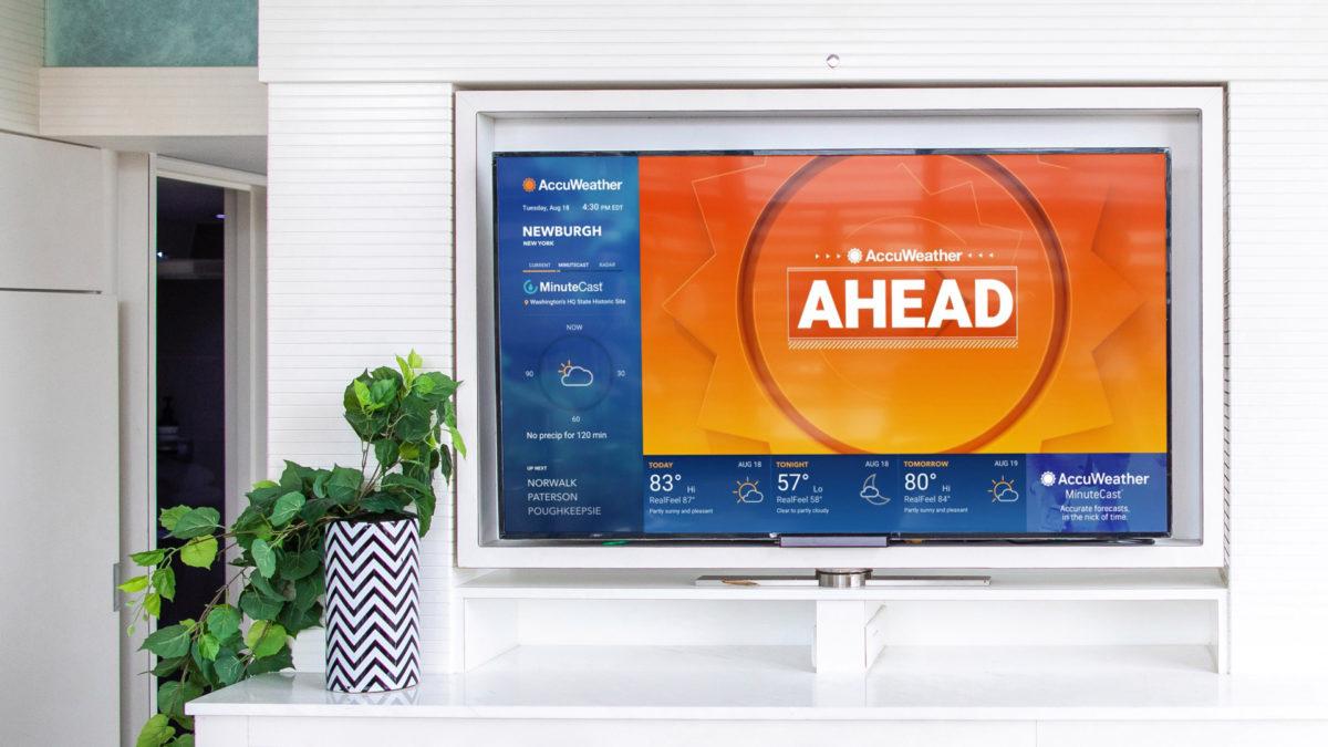 samsung smart tv apps accuweather