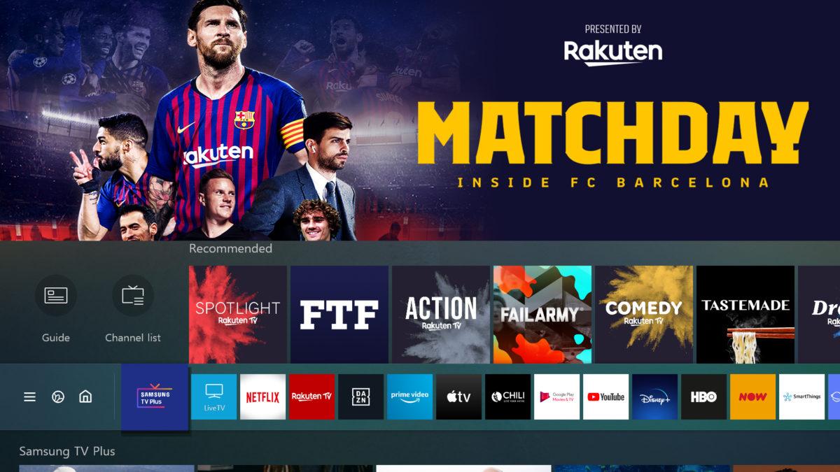 samsung smart tv apps tv plus