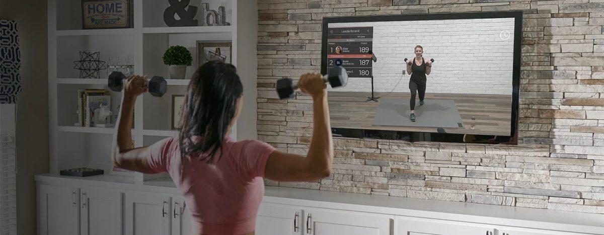 samsung smart tv escalon fitpass