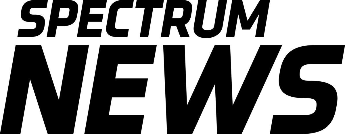 logotipo de notícias do espectro