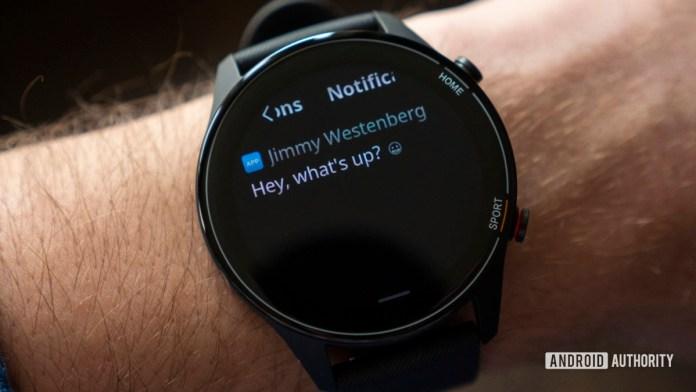xiaomi mi watch review notifications