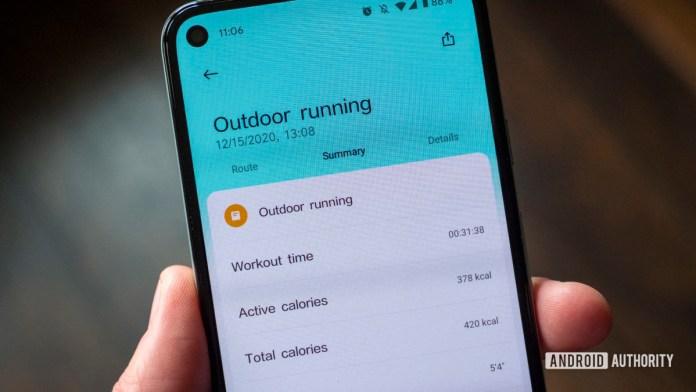 xiaomi mi watch review xiaomi wear app outdoor running data