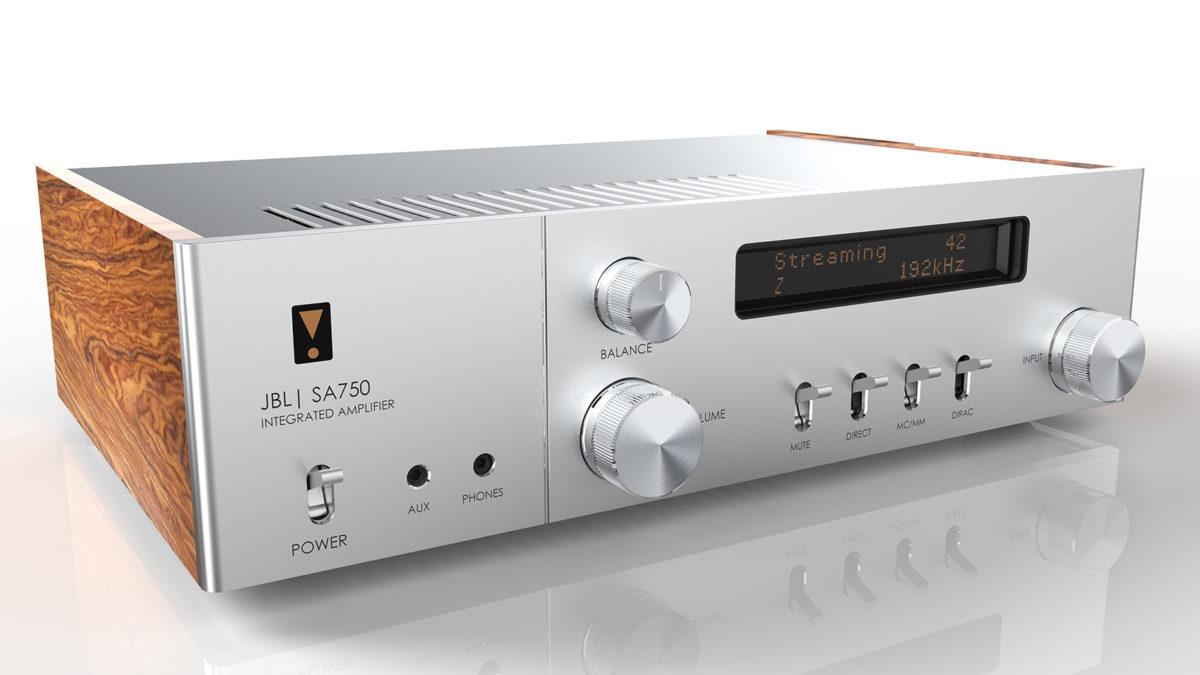 Amplificador integrado JBL SA750